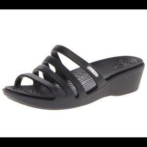 Crocs- Rhonda Wedge Sandal